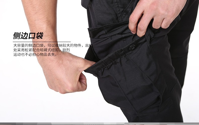 Loveslf factory wholesale balck TAD city tactical pants comfortable CQB overall