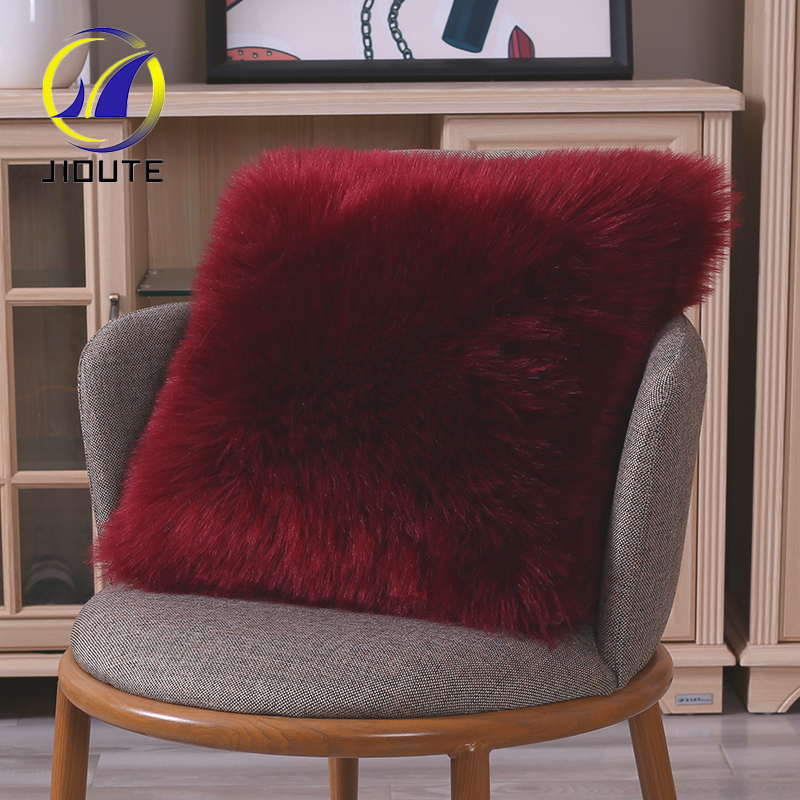 Floor Couch Seating Sofa Faux Fur Pillow