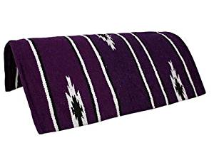 "Tahoe Tack Navajo Acrylic Hand Woven Pony Saddle Blanket Pad 26"" X 26"" at Wholesale Price"