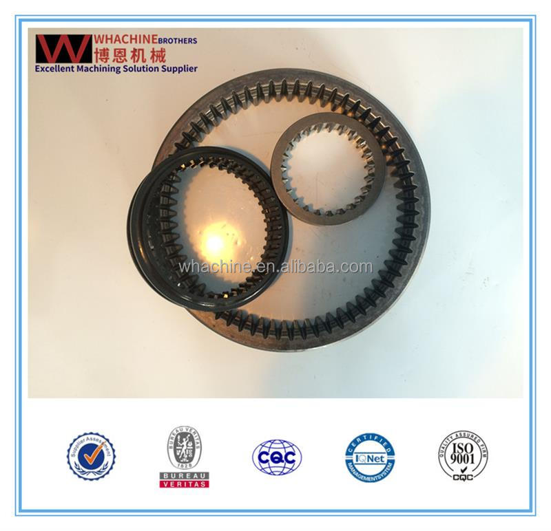 Customized wind turbine ring gear made by WhachineBrothers ltd.