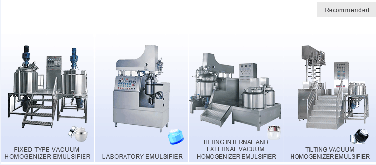 Industrial Fast Facial Mask Mud Emulsifying Mixing Machine