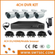 SMTSEC DVR-KIT104 700 TVL CCTV Camera H.264 Full 4ch D1 DVR kit