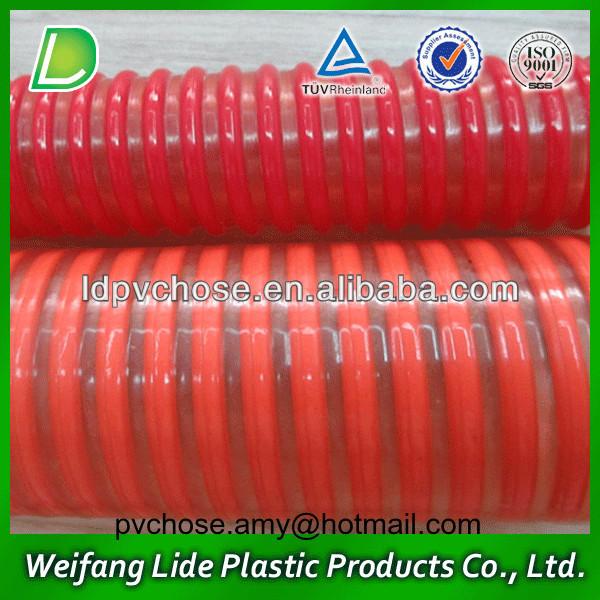 colorful corrugated drain pipe