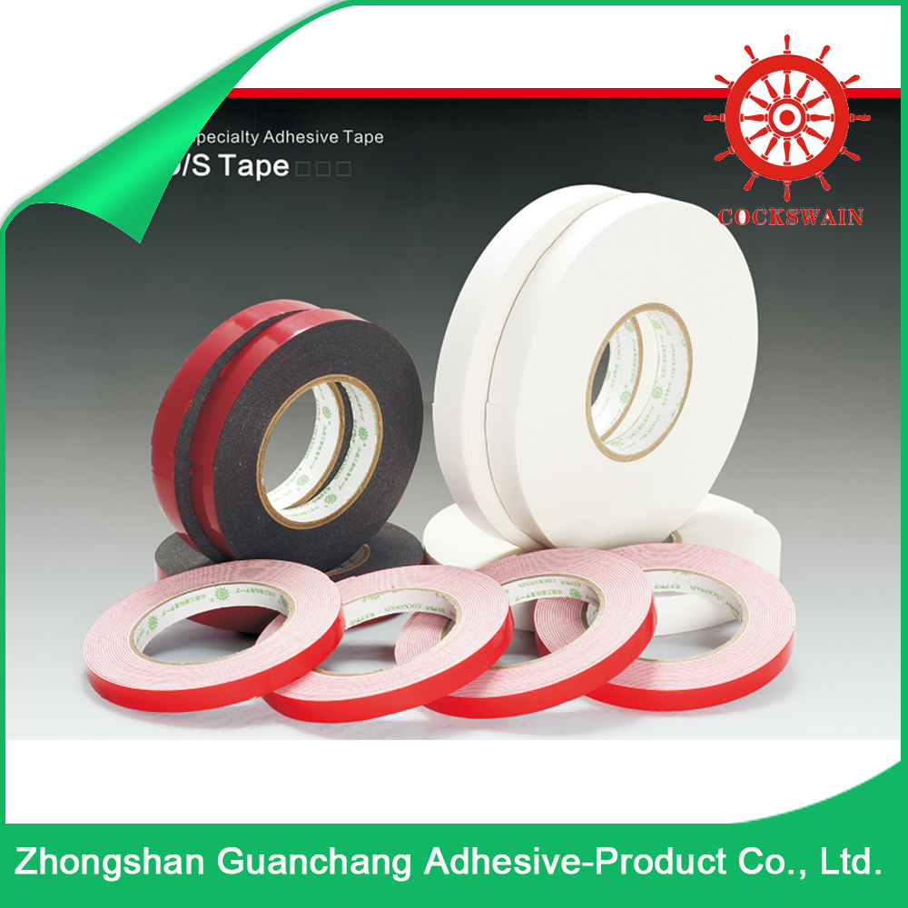 Hot Products Foam Solvent Base Foam Tape / Acrylic adhesive PE Foam Tape