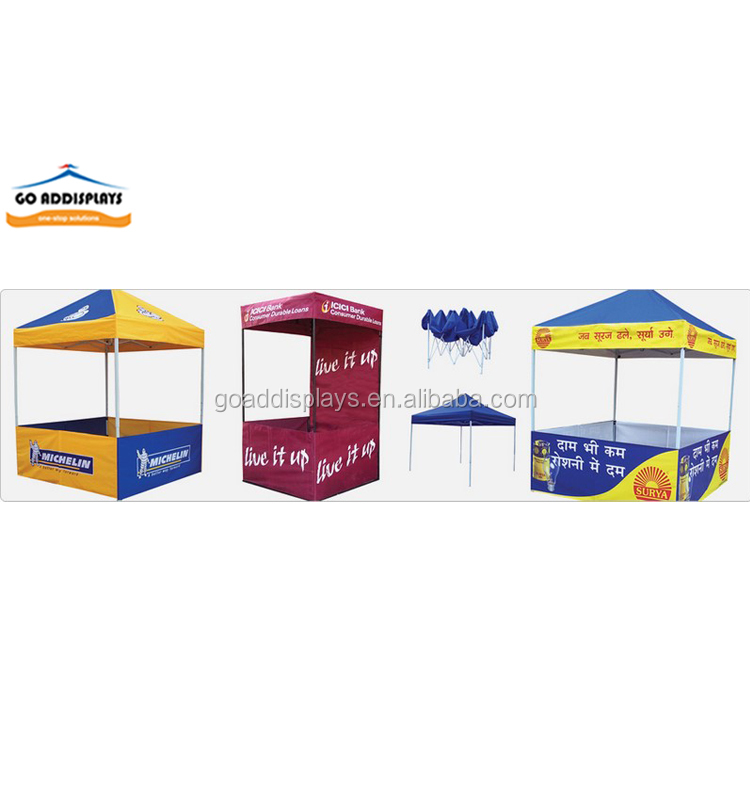 Exhibition advertising shower heavy duty tent pop up tent 4 person