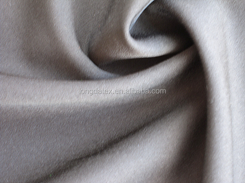 1/2 Twill 4 way stretch polyester twill fabric with spandex