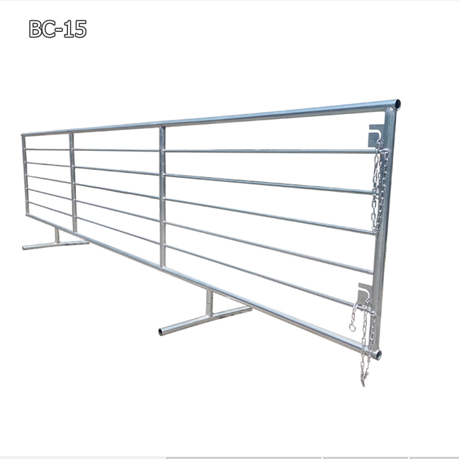 free standing cattle fence