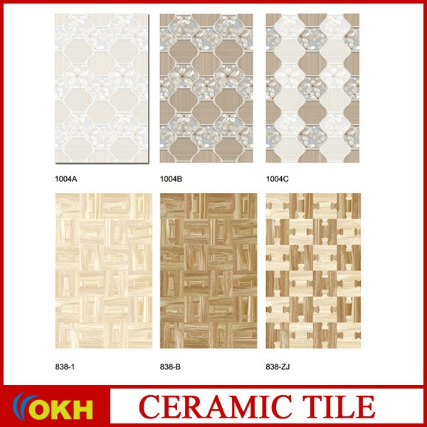 3D ink jet cheap ceramic wall tile /bathroom tile design /200x300 #K25543