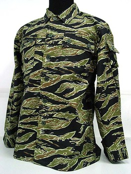 Vietnam tiger stripe camouflage uniform army military tactical suit