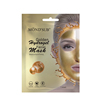 Golden hydrogel facial mask