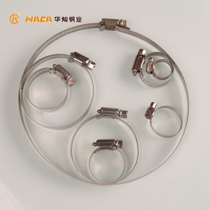 HUACAN HC1056 Customized Tube or Pipe Fittings Stainless Steel Hose Clamp