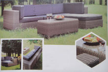 Popular ourdoor rattan wicker sofa