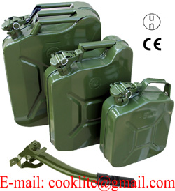 10L American / European Metal Jerry can / Wedco Style Military Fuel Can