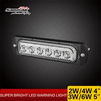 Emergency Vehicle Lights 3w Strobe LED Ultra Slim Strobe Lights Police Amber White Dual Color Strobe Light