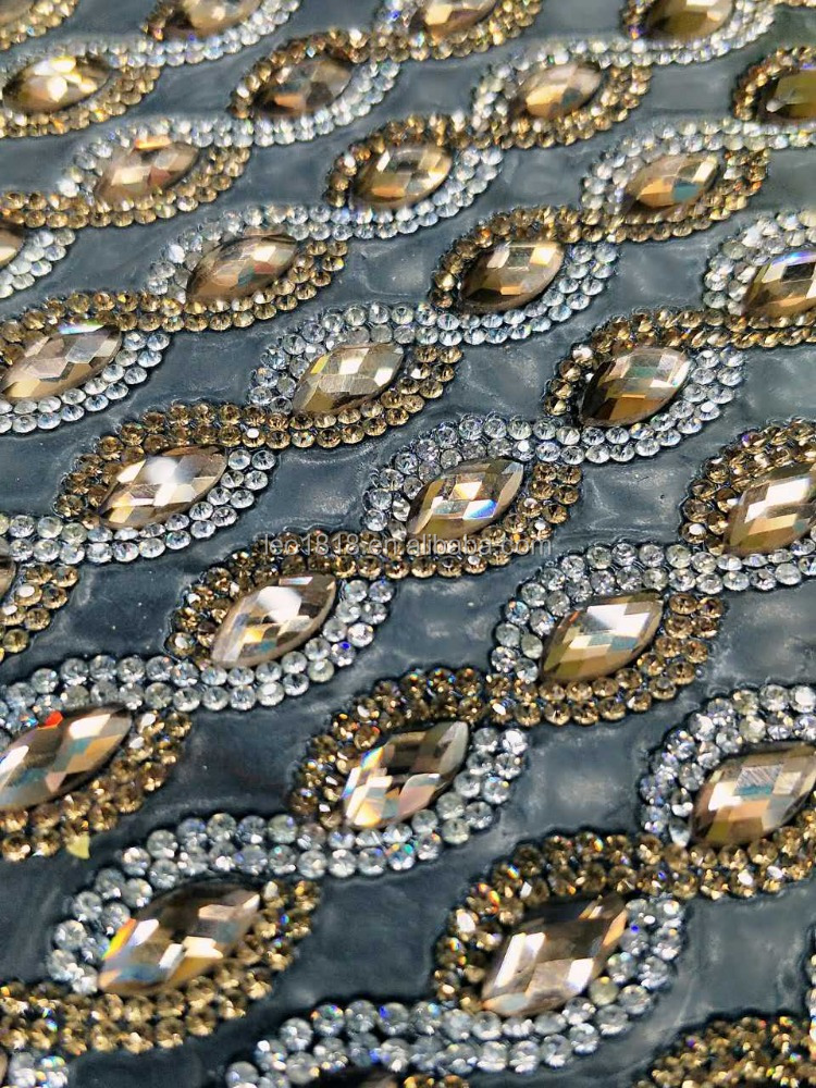 Top quality and trendy point back hotfix colored and adhesive glass rhinestone trim garment accessories sheets 24*40
