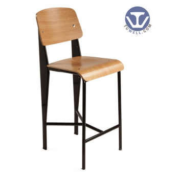 TW8062-L Panel high tall bar chair