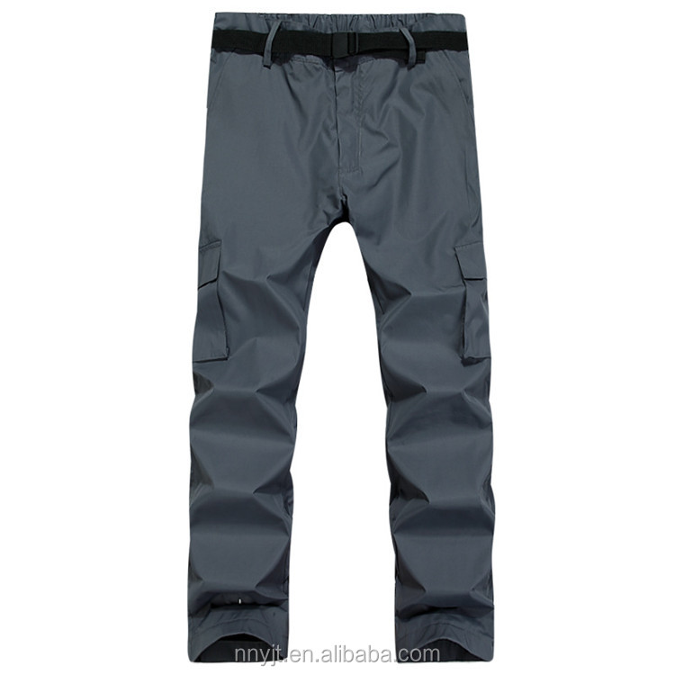 Waterproof Material Man Winter Pants for Outdoor Trousers