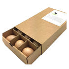 Biodegradable Corrugated Quail Eggs Packaging Boxes Carton Dimensions