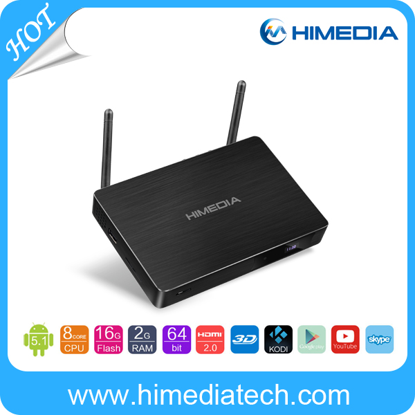 New update product!! HiMedia Rockchip RK3368 octa core 4K android tv box google 5.1 arabic channels with dual band wifi
