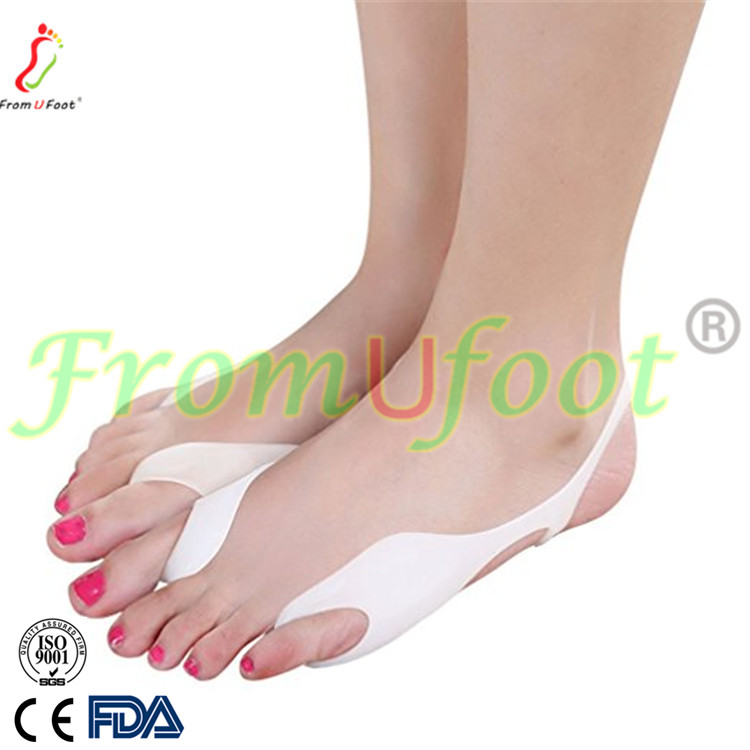 Soft Silicone Gel Bunion Corrector ZRWC10 Toe Loops & Double Bunion Toe Sling gel separator