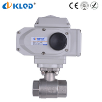 Q911F-16-DN25 electric actuated stainless steel 1 inch ball valve to control air water steam