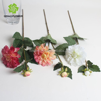 Fake Chrysanthemum White Artificial Mums Flower For Funeral