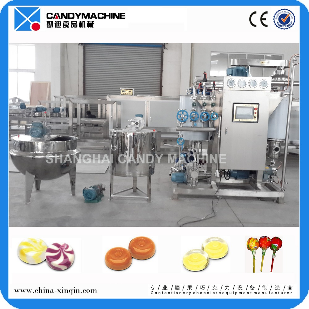Multi-function hard candy making equipment for sale