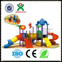 China Little tikes outdoor playset, metal playground equipment, nursery school play equipment QX-065A