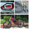 China enduro fat tire kawasaki electric motorcycle