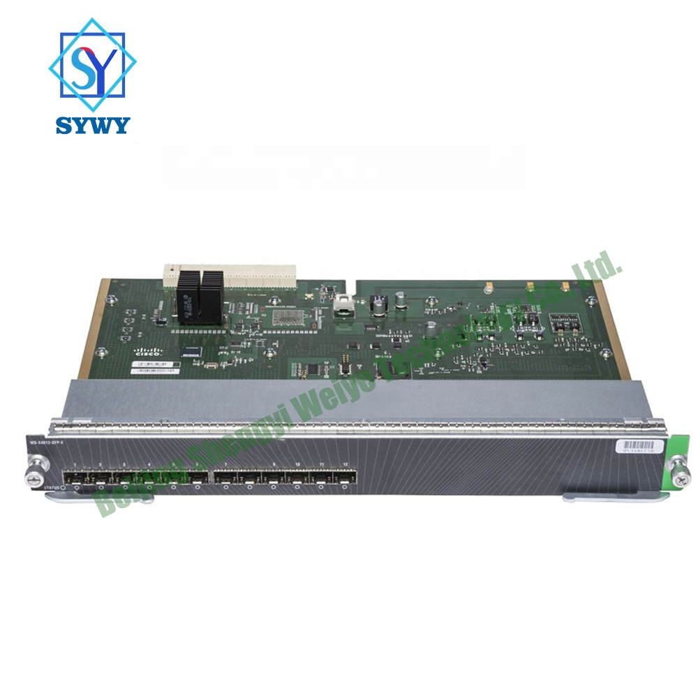 Exclusive sales of original CISCO core board module WS-X4612-SFP-E, suitable for enterprise SOHO