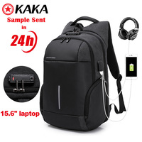 2020 anti theft custom usb charging men back pack backpack notebook bags business laptop backpack