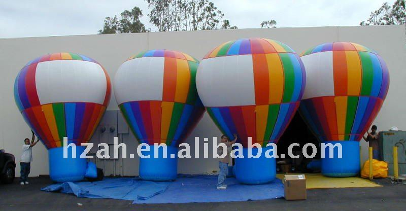 Colorful big inflatable air balloon for advertising