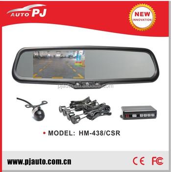 Oem Car Rear View Parking Sensor Mirror & Camera Kit,Oe Style Rear ...