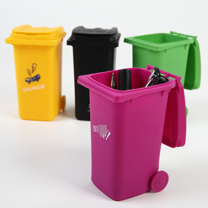Trash bin design Pen Pencil Holder For Desk Organizer Accessories