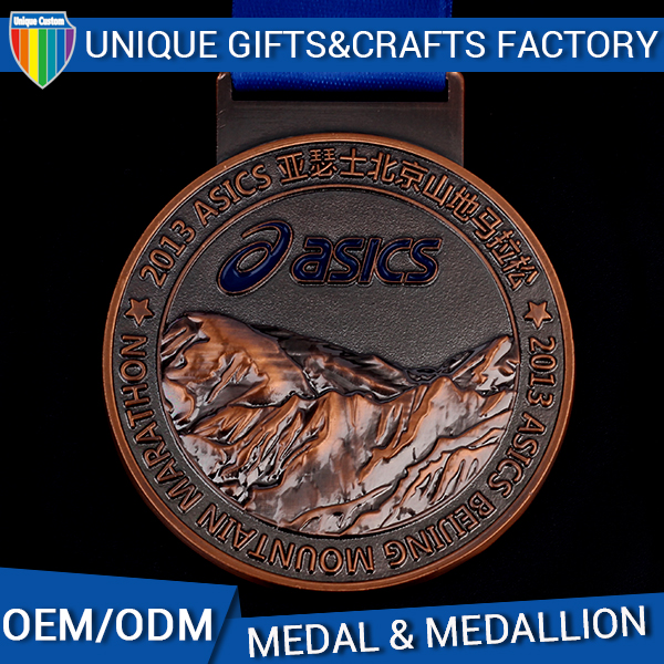 Hot sale custom logo marathon metal old sports medals