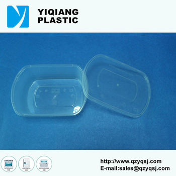 Oval Yq-373 Food Plastic Containers