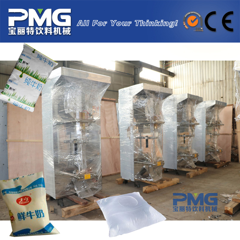 Factory Price Sachet Bag Liquid Water Milk Filling and Packaging Machine for Sale