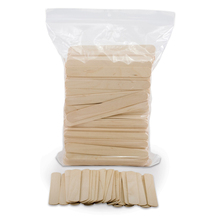 Doctor tongue depressor disposible 100pcs disposable wooden waxing spatula / applicator eco-friendly
