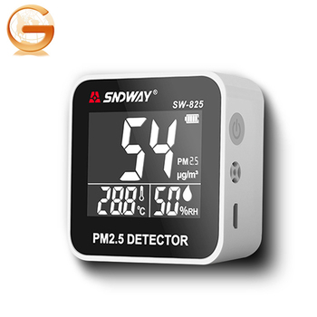 SNDWAY825 SW825 Indoor Handheld Air Quality Detector Air Pollution Detector