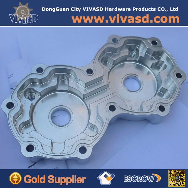 Strong R&D Hard Anodized 5 Axis Aluminium CNC Machining Parts