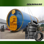 Excellent machine. used tyre recycling plant waste rubber pyrolysis