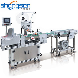 High Speed Automatic Plastic Bag,Cards Paging Labeling Machine