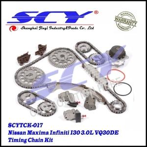 Timing Chain Kit w/ Water Pump 95-01 for Nissan Maxima Infiniti I30 3 0L  VQ30DE