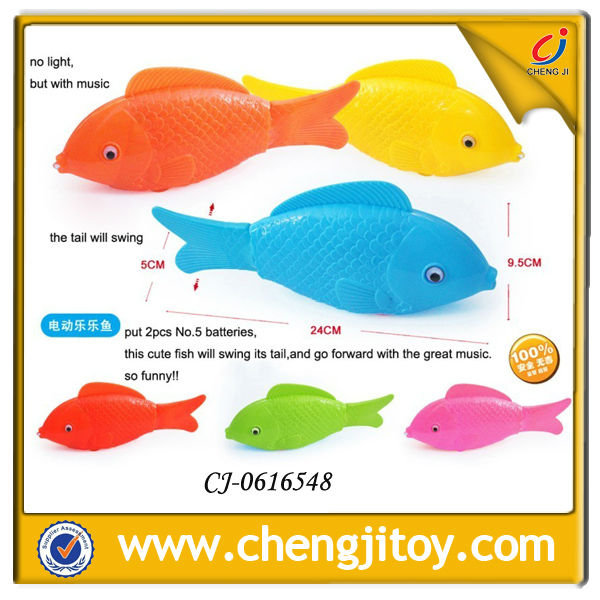 Battery operated fish,Electric fish toys