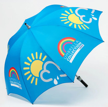 wholesale promotional custom spain golf umbrella gear