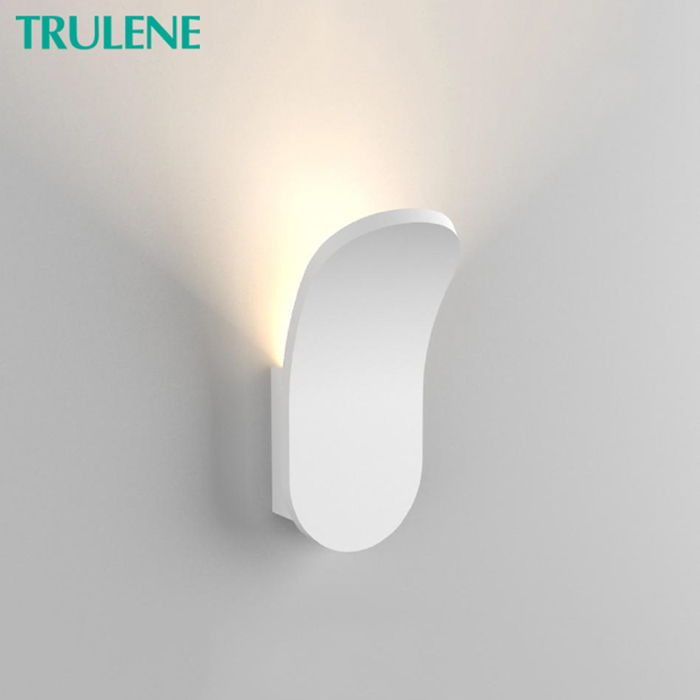 Hotel home living room creative customized bluetooth garden decor wall lamps sconce square led lamps wall outdoor