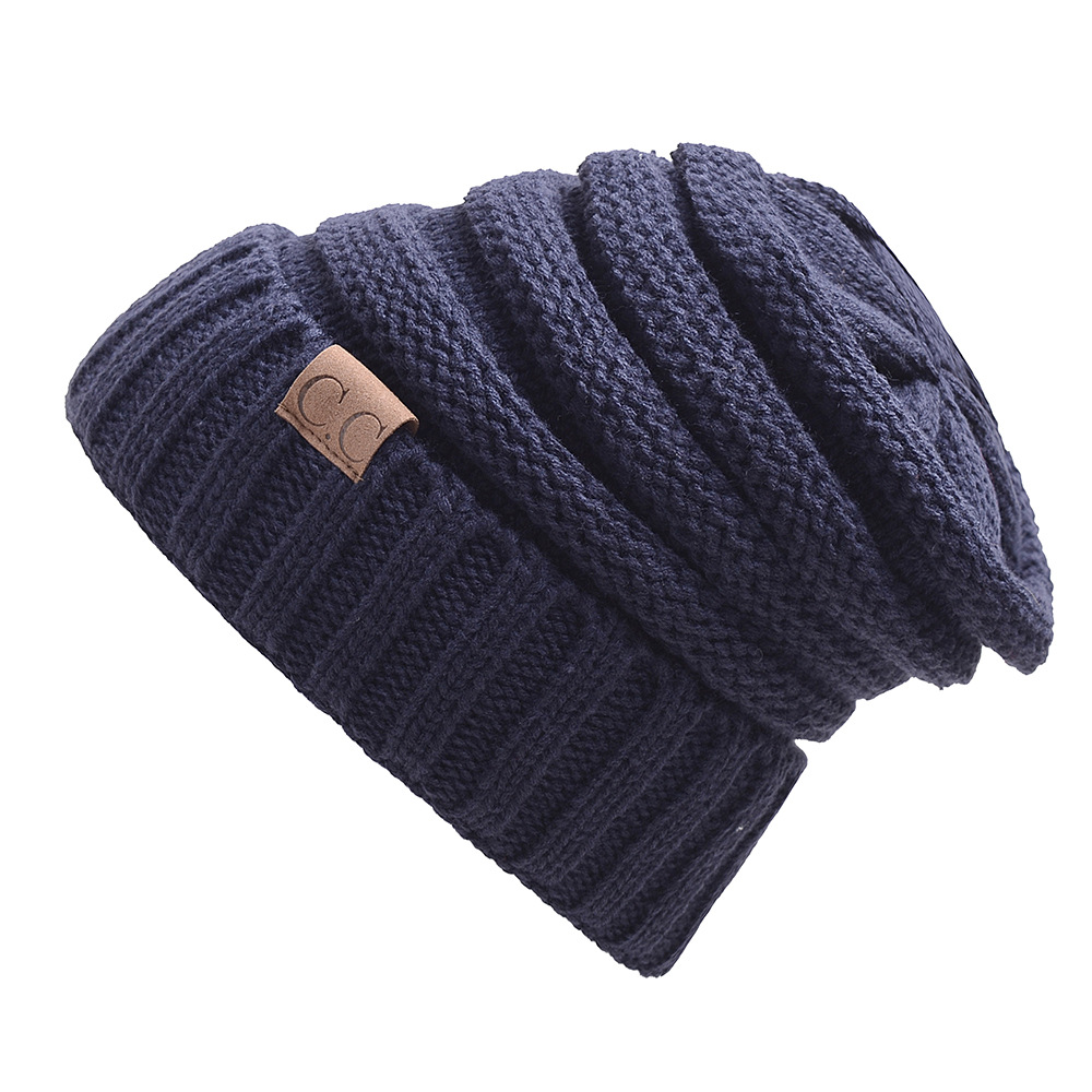 Nueva versión de Corea del Sur invierno sombrero para las mujeres y los  hombres skullies otoño 92a30481a94