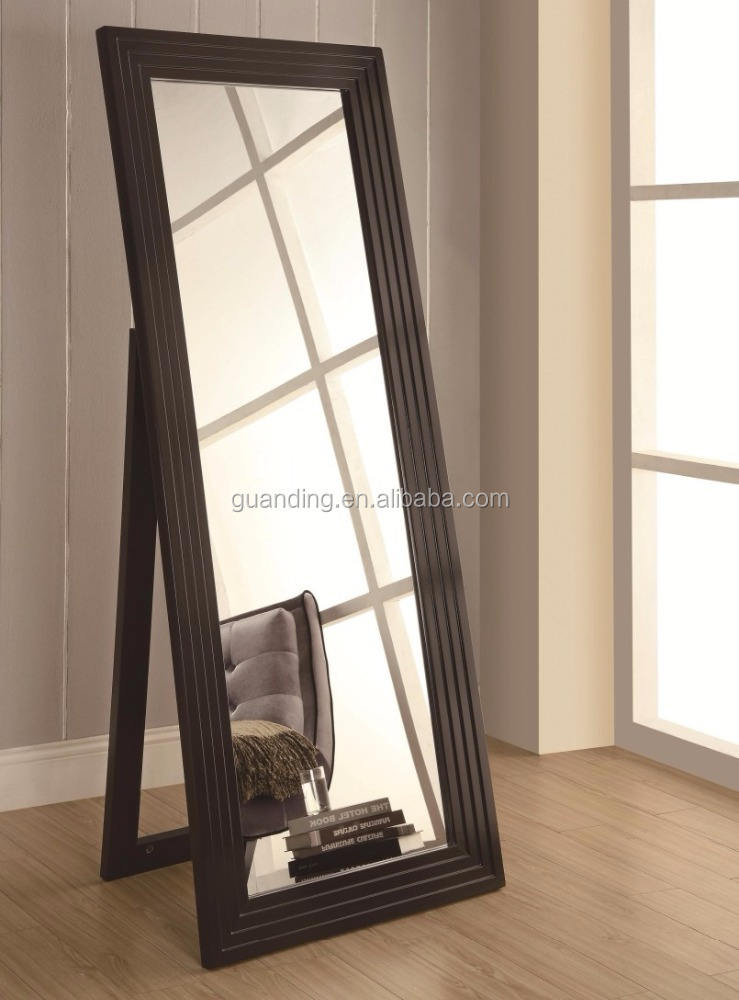 Floor mirror with stand home flooring ideas for Floor length mirror for sale
