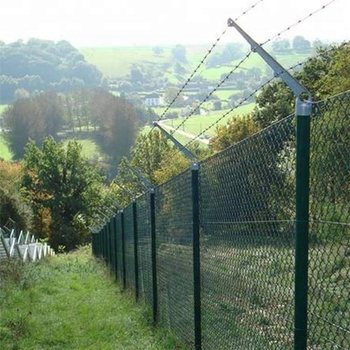 Chain Link Fencing Prices Per Foot In Malaysia 8 Feet Fence Dipped Galvanized Pvc Coated Price Of Black