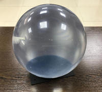 Clear/Transparent Standard Poly Bowling Ball with sticker NBB-109